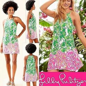 Lilly Pulitzer Donna pearl romper flaming 00